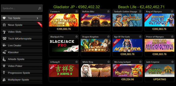 seriöse online casinos mit jackpot